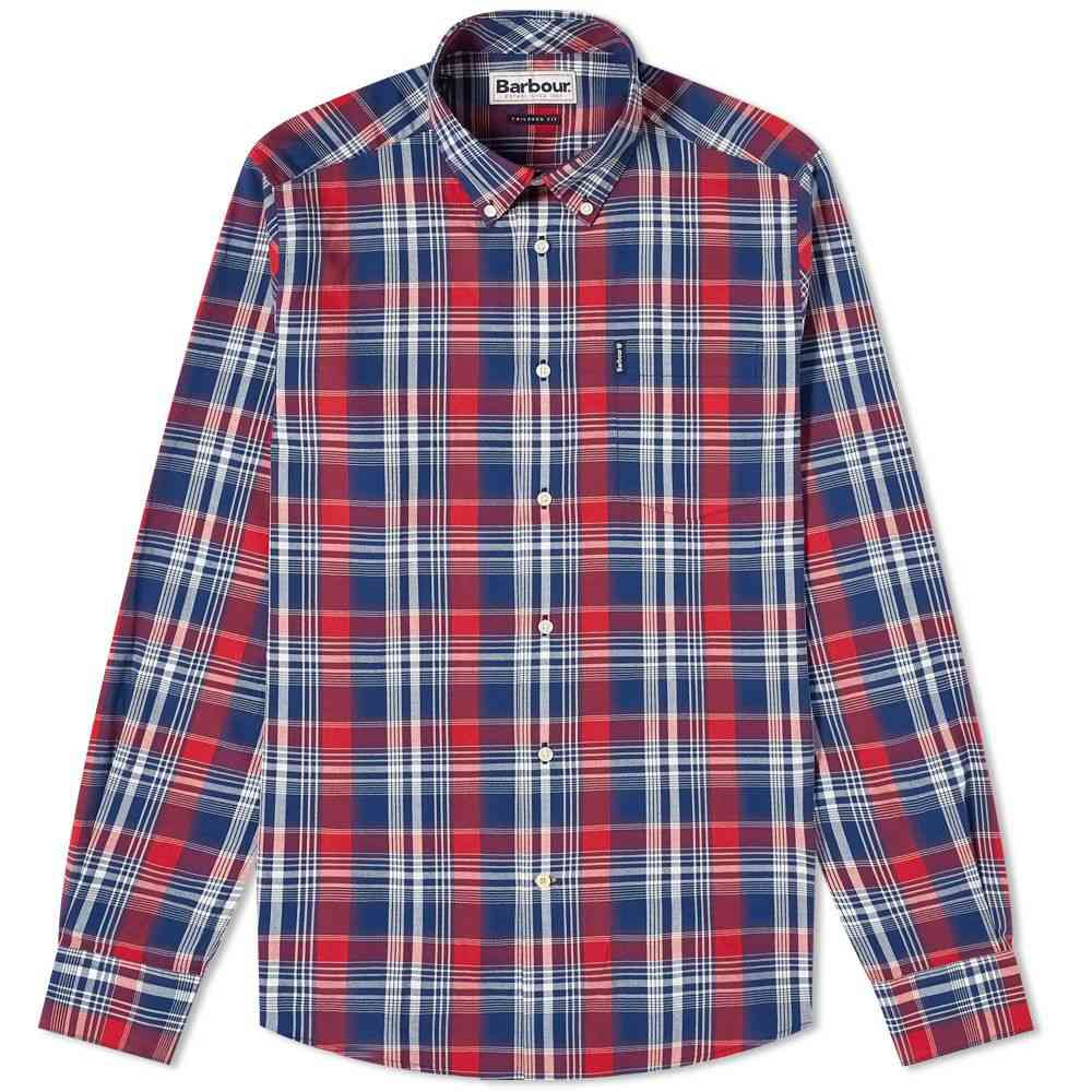 バブアー Barbour メンズ シャツ トップス【Country Check Shirt】Red