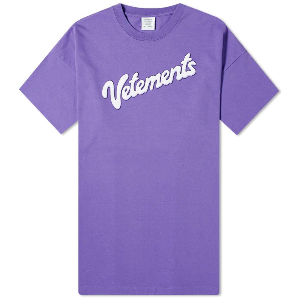 ヴェトモン VETEMENTS メンズ Tシャツ トップス【Milk Tee】Violet