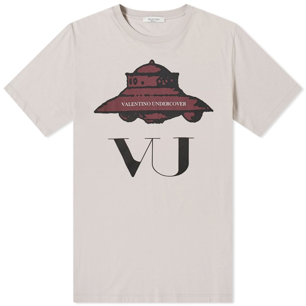 ヴァレンティノ Valentino メンズ Tシャツ トップス【x Undercover VU UFO Print Tee】Pink/Red