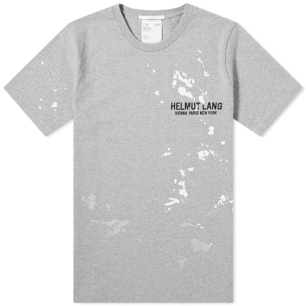ヘルムート ラング Helmut Lang メンズ Tシャツ ロゴTシャツ トップス【Painter Logo Tee】Precision Heather