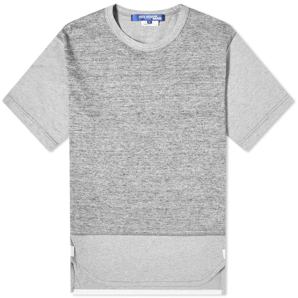 ジュンヤ ワタナベ Junya Watanabe MAN メンズ Tシャツ トップス【Marl Tee】Grey Marl