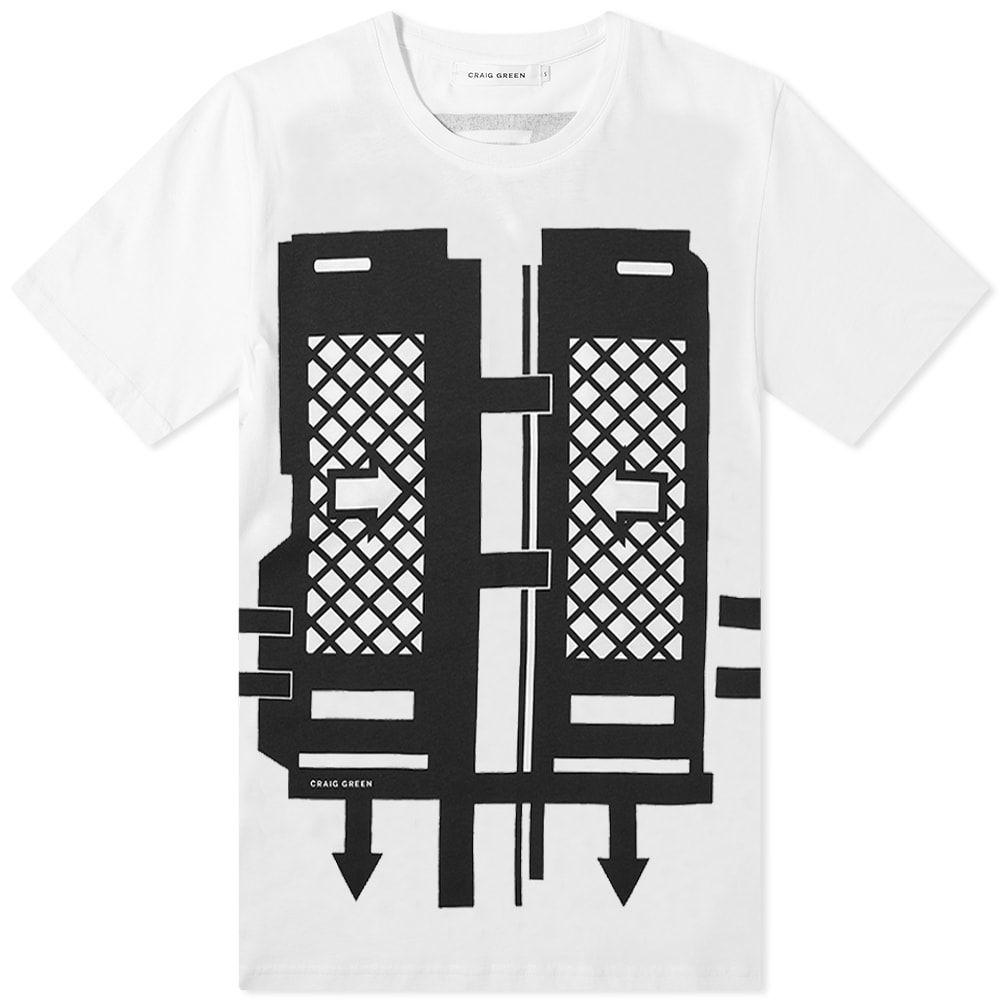 クレイググリーン Craig Green メンズ Tシャツ トップス【Flatpack Tee】Black
