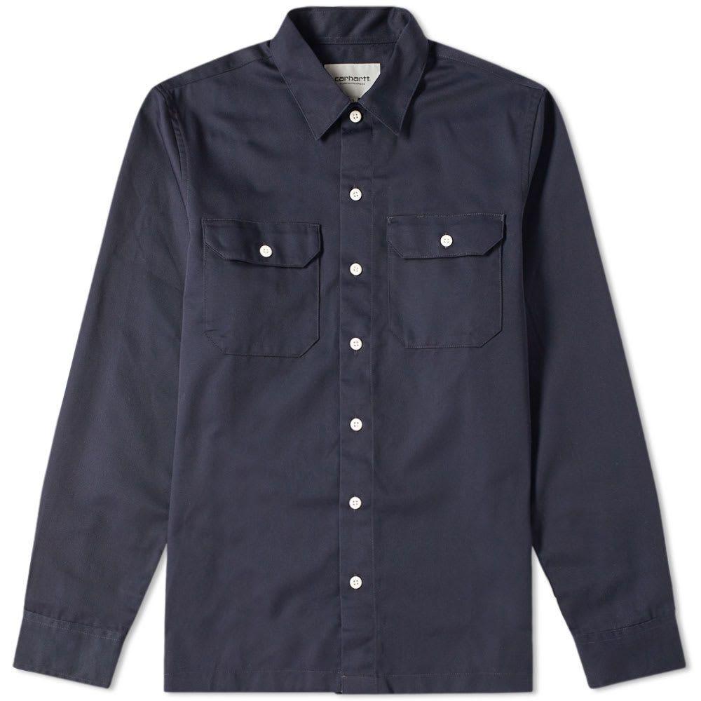 カーハート Carhartt WIP メンズ シャツ オーバーシャツ トップス【Master Overshirt】Dark Navy
