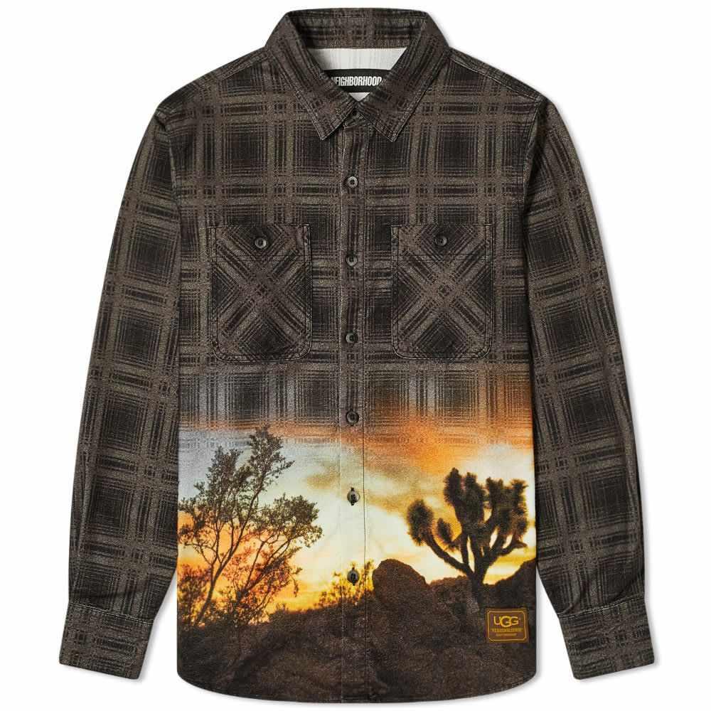 ネイバーフッド Neighborhood メンズ シャツ トップス【x UGG Lumbers Shirt】Grey