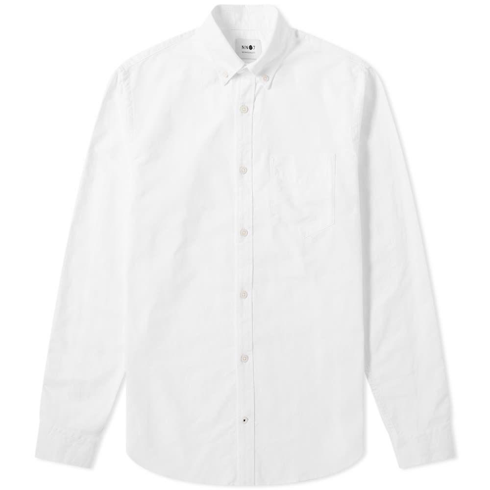 NN07 メンズ シャツ トップス【Levon Button Down Oxford Shirt】White