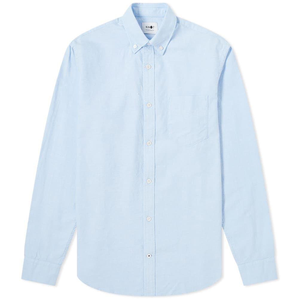 NN07 メンズ シャツ トップス【Levon Button Down Oxford Shirt】Light Blue