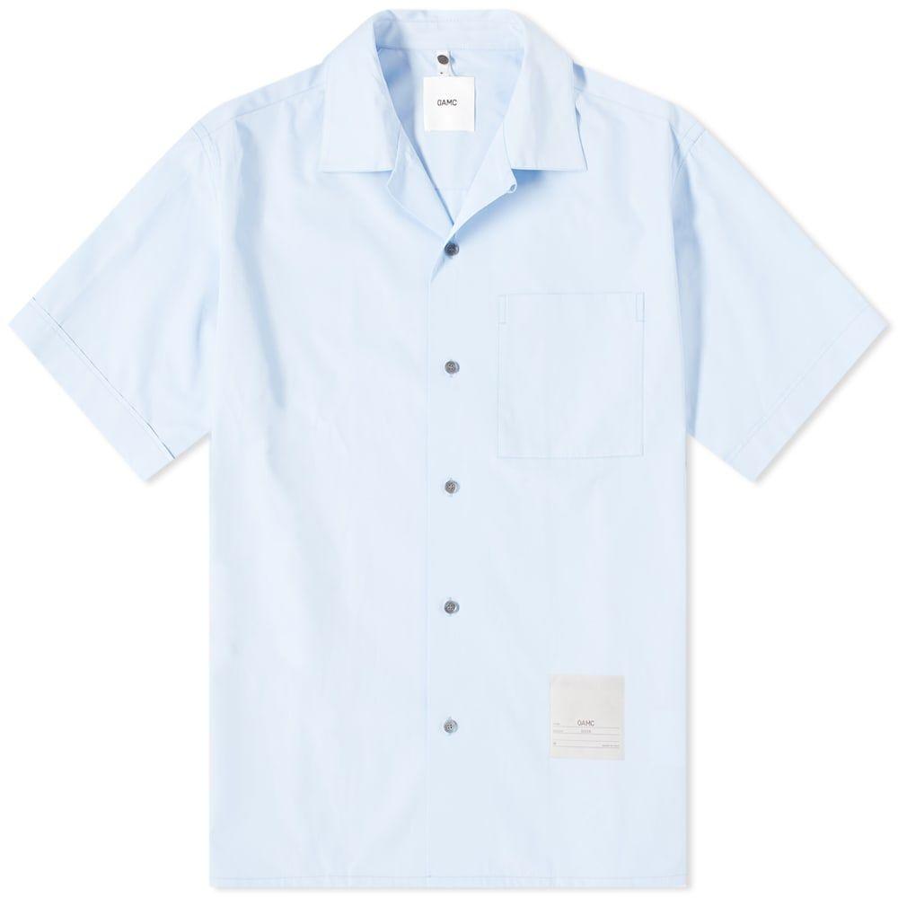 オーエーエムシー OAMC メンズ シャツ トップス【Kurt Vacation Shirt】Light Blue
