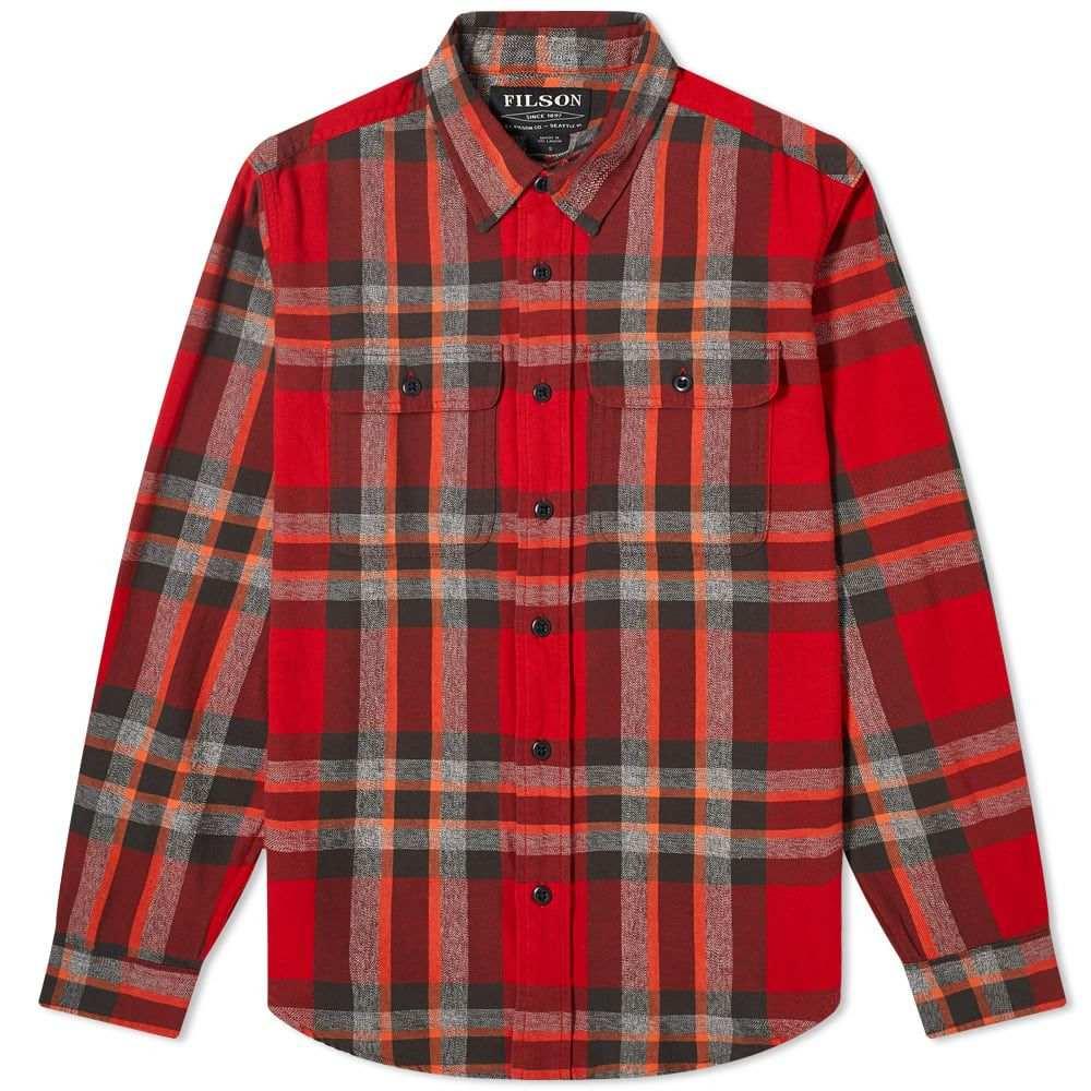 フィルソン Filson メンズ シャツ トップス【Checked Scout Shirt】Red/Black