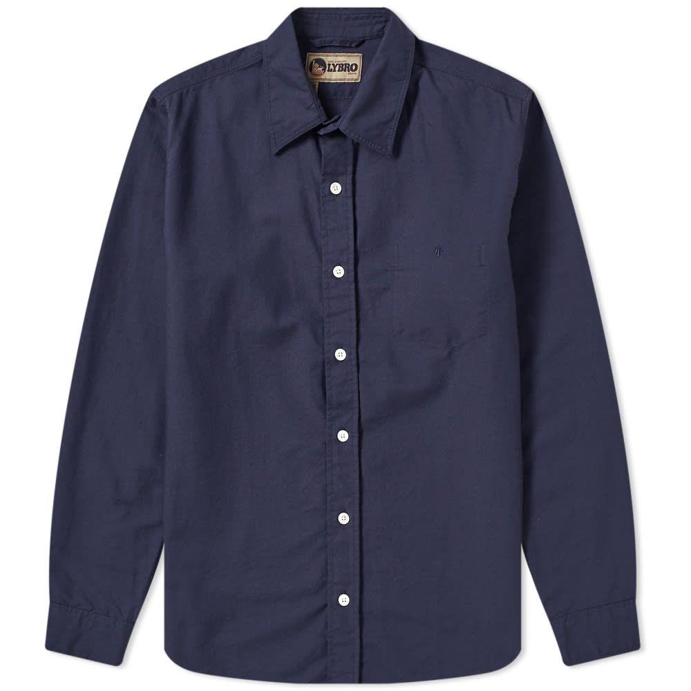 ナイジェルケーボン Nigel Cabourn メンズ シャツ トップス【Basic Oxford Shirt】Navy