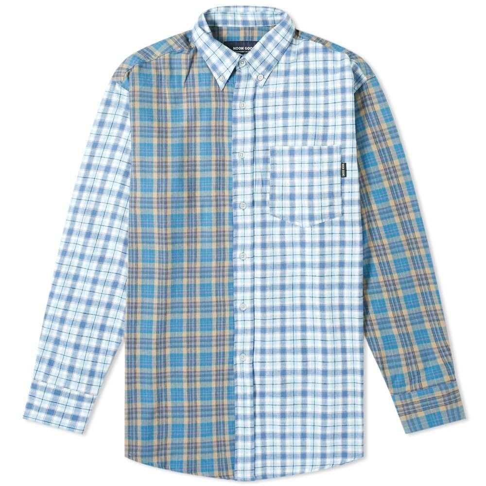 ヌーン グーンズ Noon Goons メンズ シャツ トップス【5150 Shirt】Blue Plaid