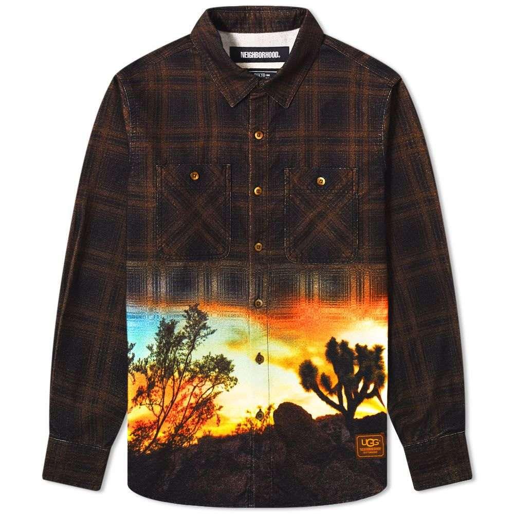 ネイバーフッド Neighborhood メンズ シャツ トップス【x UGG Lumbers Shirt】Brown