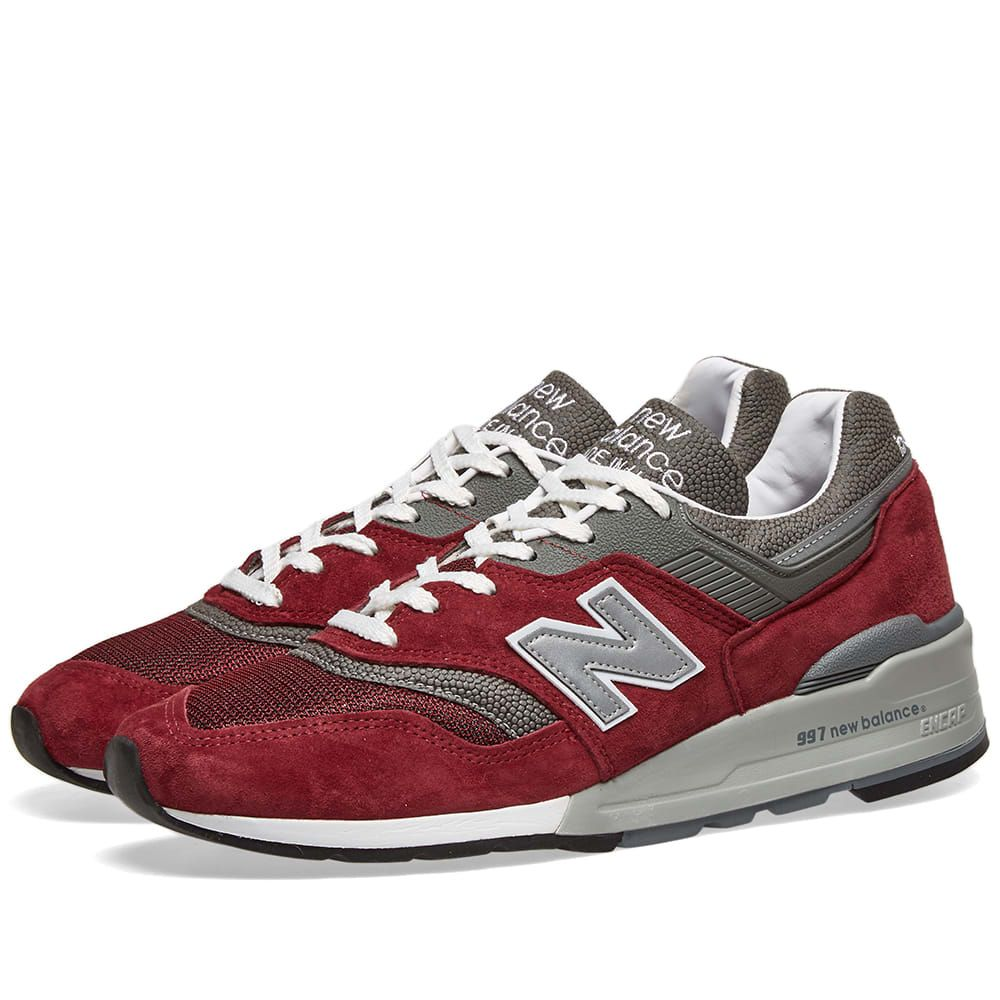 ニューバランス New Balance メンズ スニーカー シューズ・靴【M997BR - Made in USA】Red