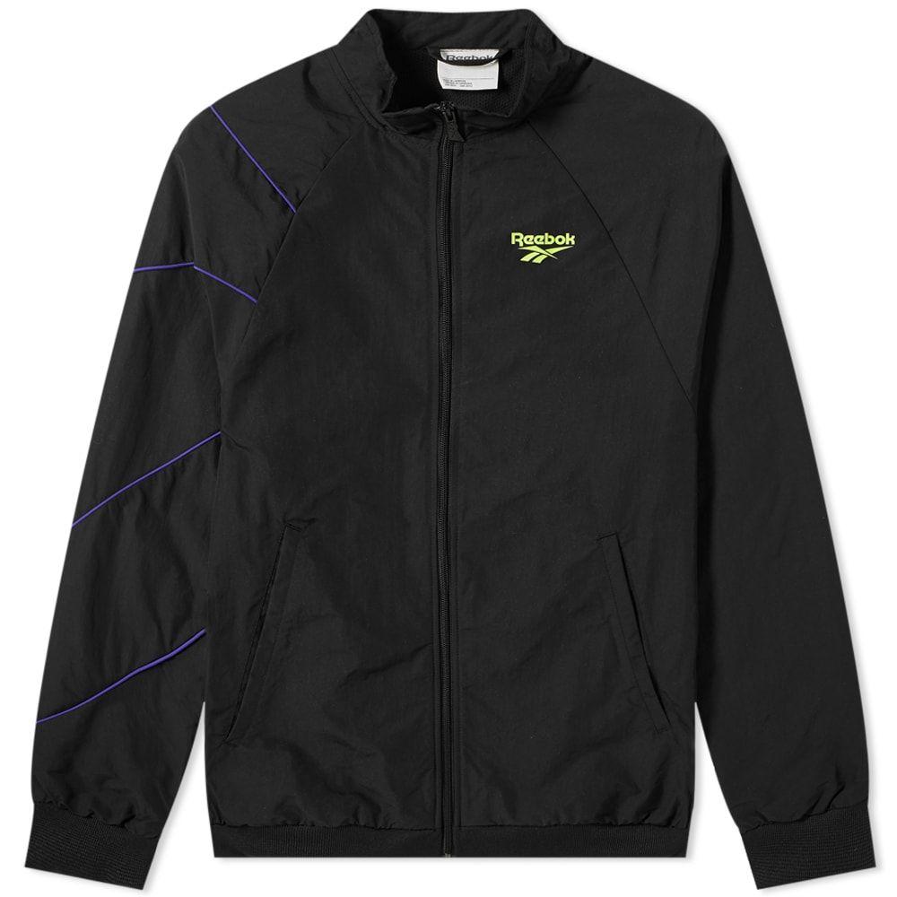 リーボック Reebok メンズ ジャケット ウィンドブレーカー アウター【Vector Windbreaker】Black