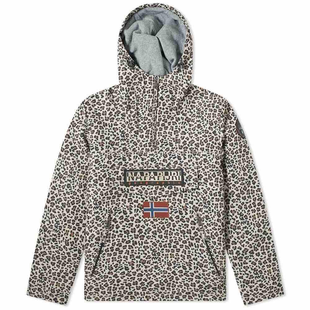 ナパピリ Napapijri メンズ ジャケット アウター【Rainforest Camo Jacket】Leopard Print