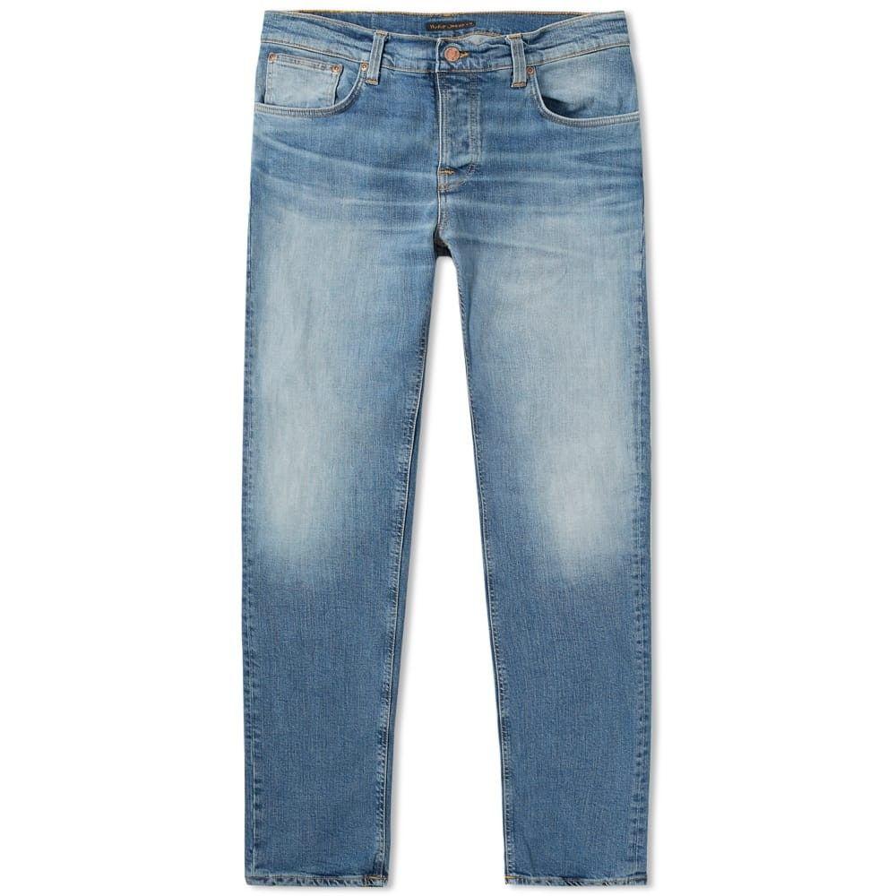 ヌーディージーンズ Nudie Jeans Co メンズ ジーンズ・デニム ボトムス・パンツ【Nudie Grim Tim Jean】Blue Dunes