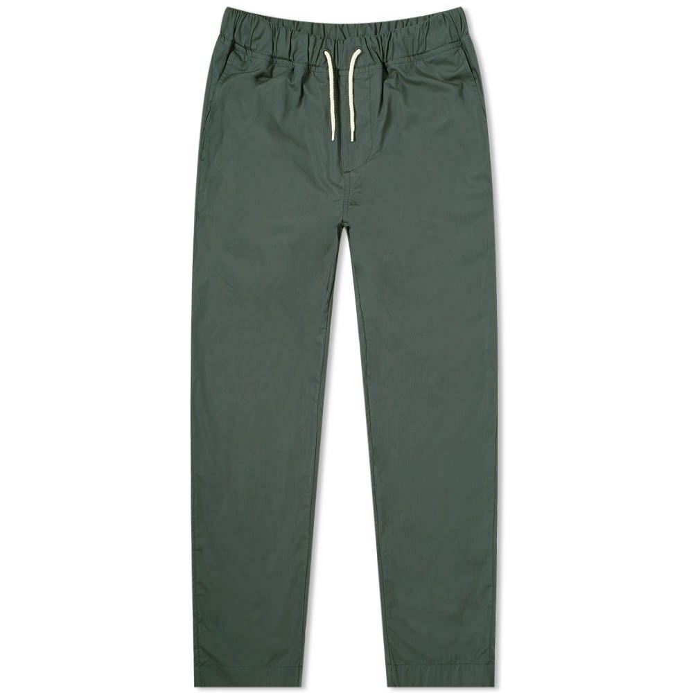 アルバム Albam メンズ ボトムス・パンツ 【Ripstop Drawstring Trouser】Green