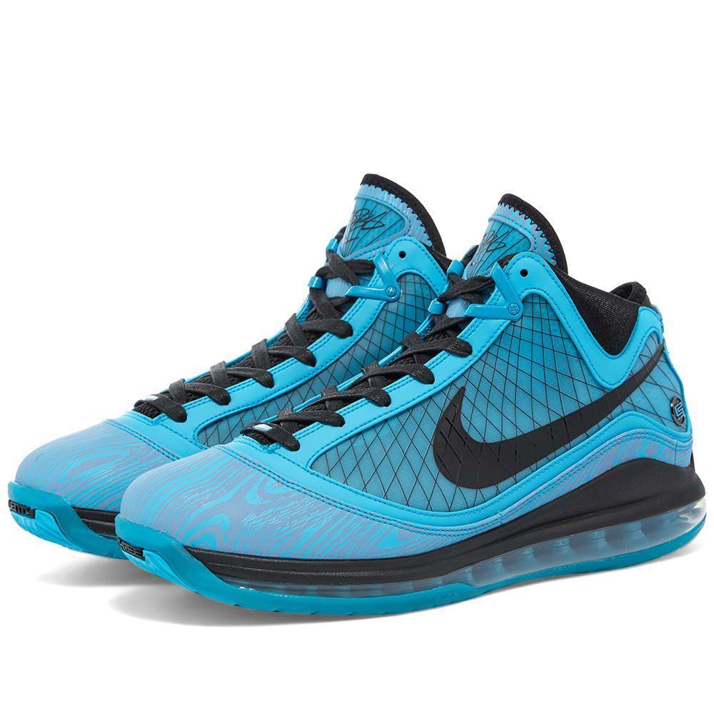 ナイキ Nike メンズ スニーカー シューズ・靴【LeBron 7】Chlorine Blue