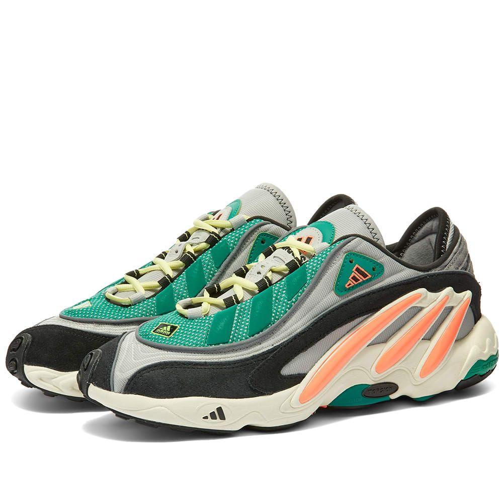 アディダス Adidas メンズ スニーカー シューズ・靴【FYW 98】Grey/Coral/Yellow