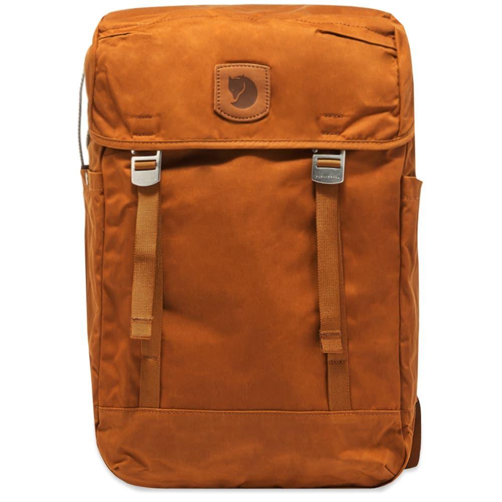 フェールラーベン Fjallraven メンズ バックパック・リュック バッグ【Greenland Top Backpack】Chestnut