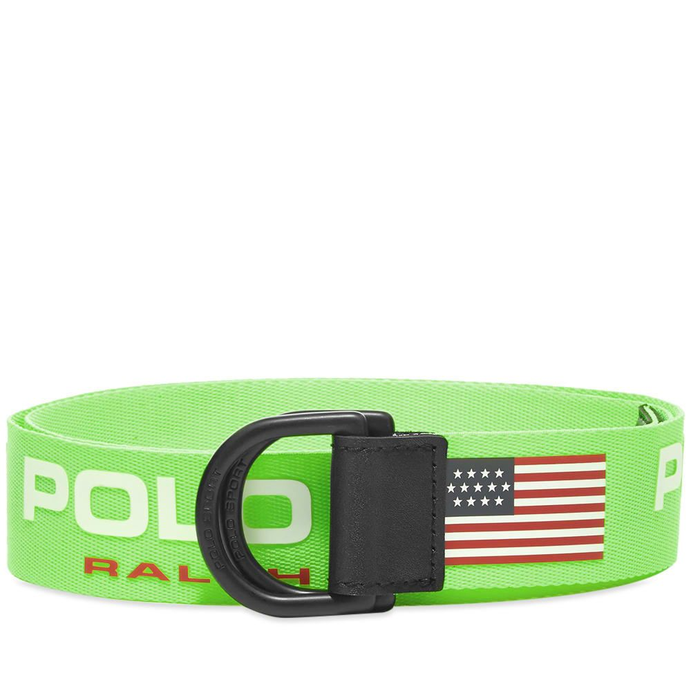 ポロスポーツ Polo Sport メンズ ベルト 【Polo Ralph Lauren Webbing Belt】Neon Lime