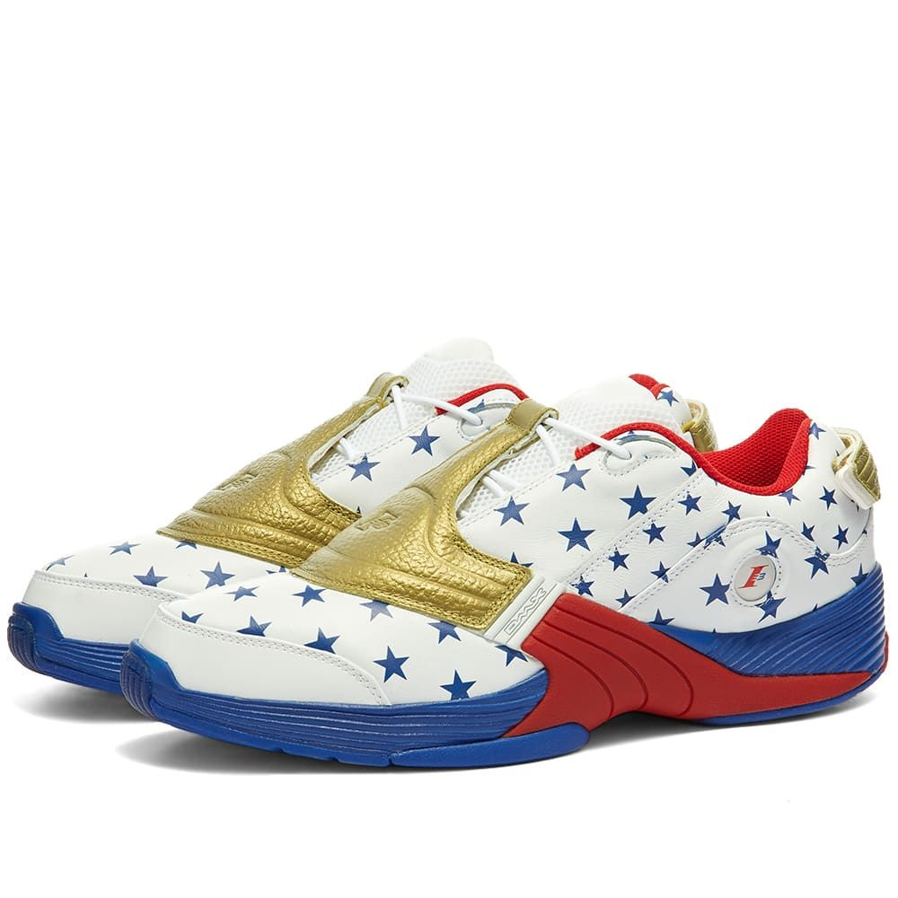 リーボック Reebok メンズ スニーカー シューズ・靴【Answer V】Red/White/Blue