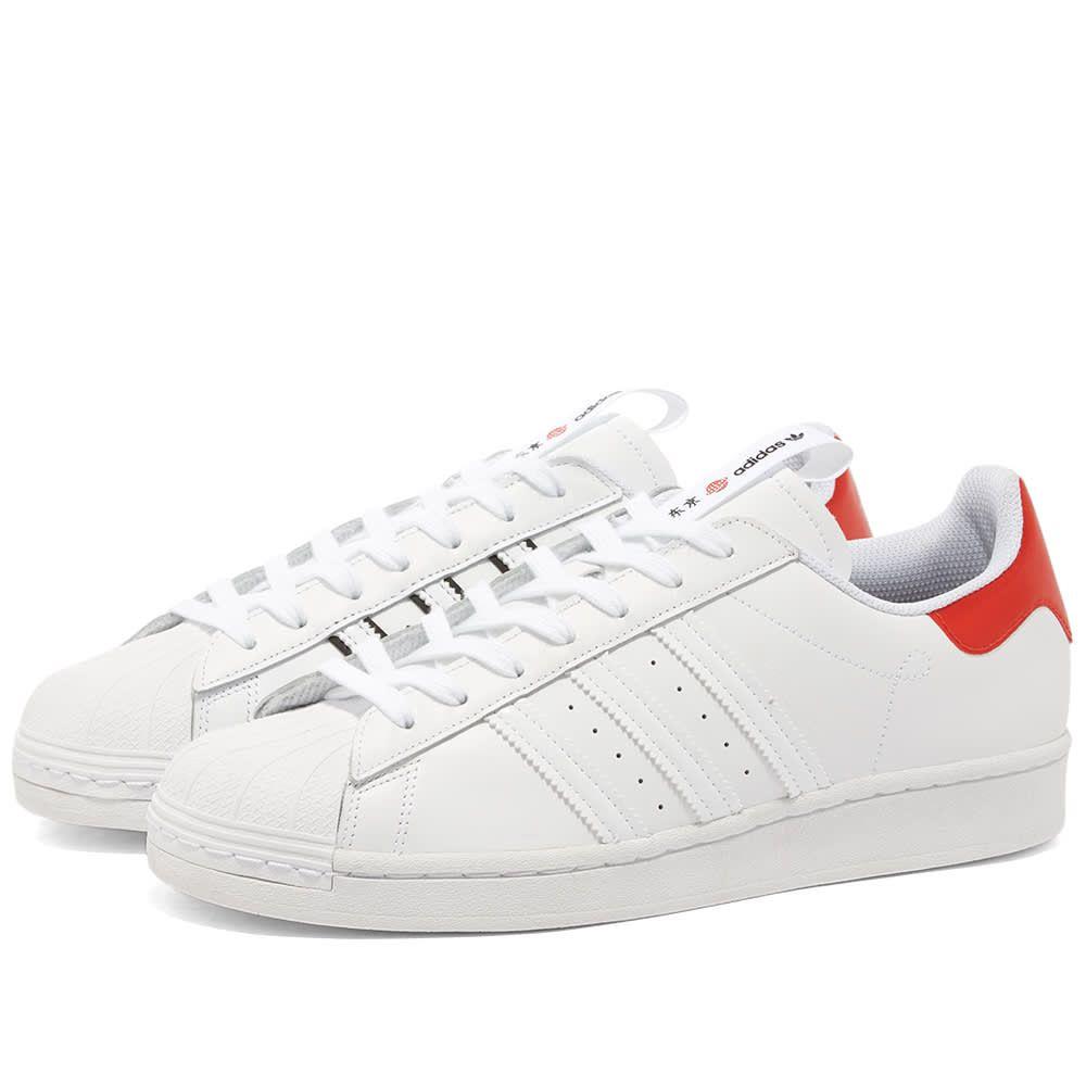 アディダス Adidas メンズ スニーカー シューズ・靴【Superstar 'Tokyo'】White