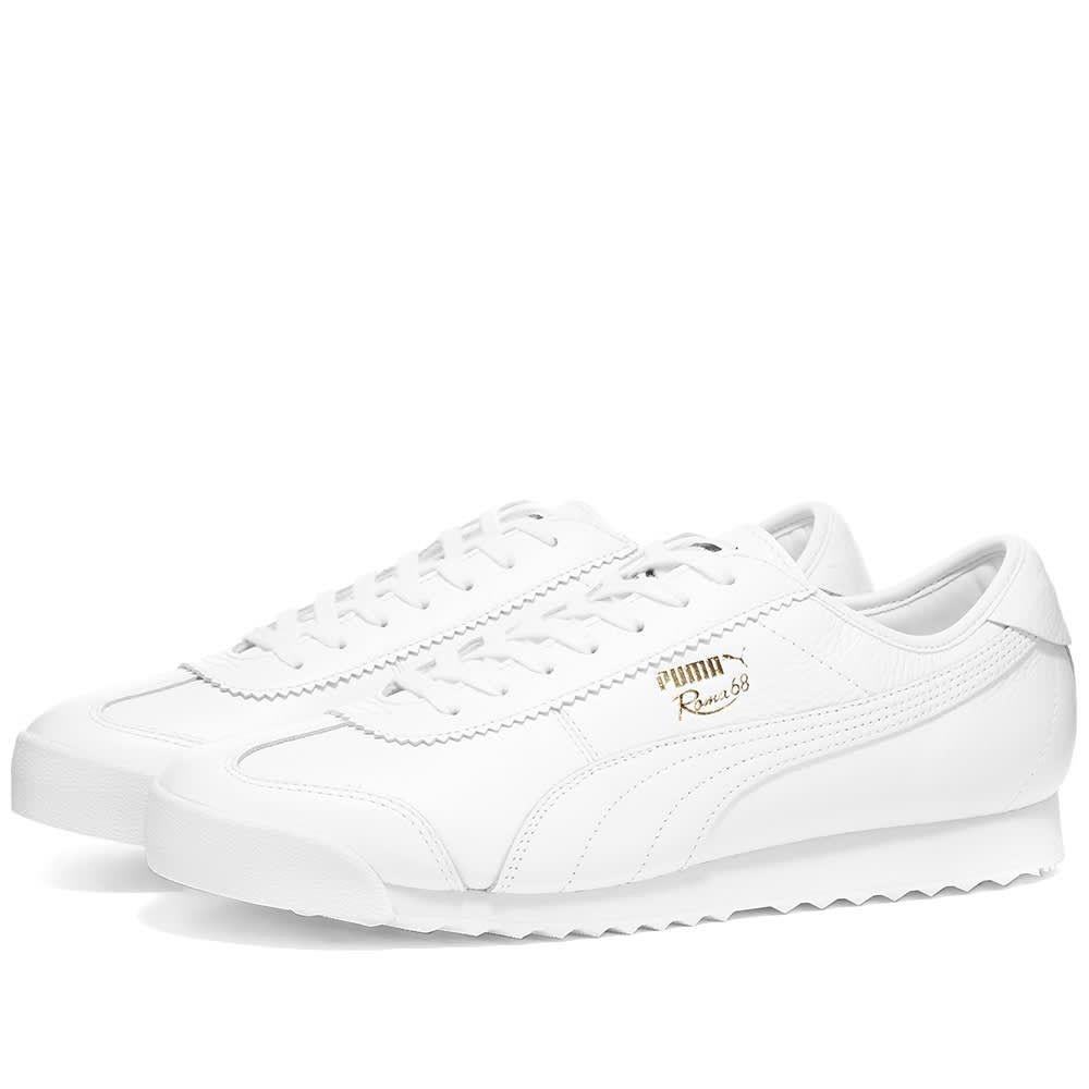 プーマ Puma メンズ スニーカー シューズ・靴【Roma 68 Vintage】Puma White/Puma White