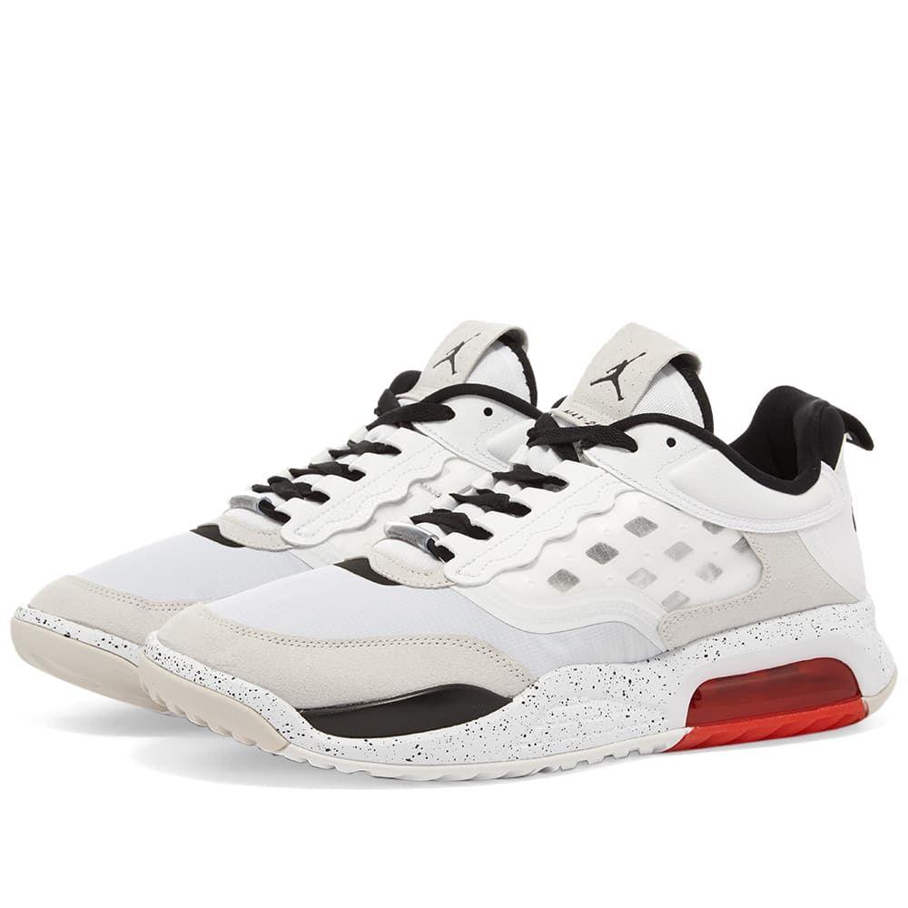ナイキ ジョーダン Nike Jordan メンズ スニーカー シューズ・靴【Air Jordan Max 200】White/Black/Red
