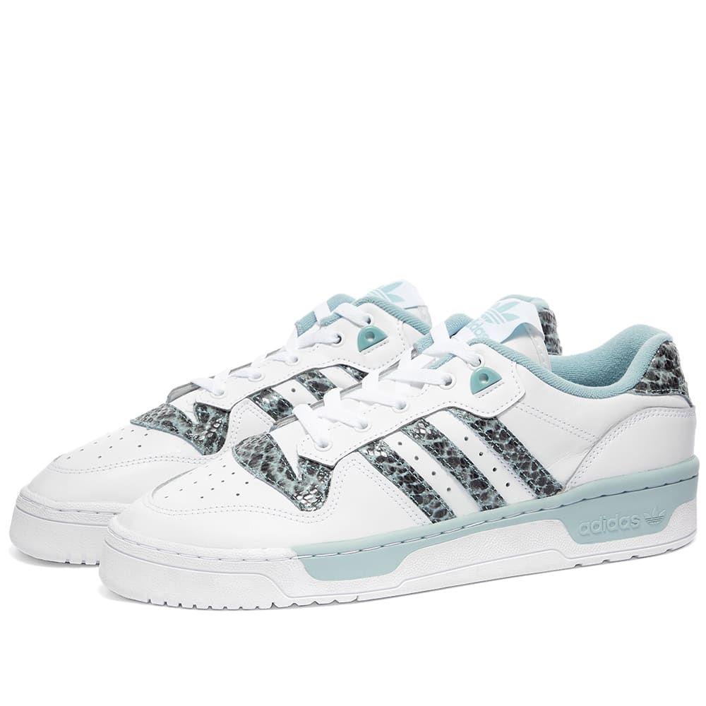 アディダス Adidas レディース スニーカー シューズ・靴【Rivalry Low】White/Grey