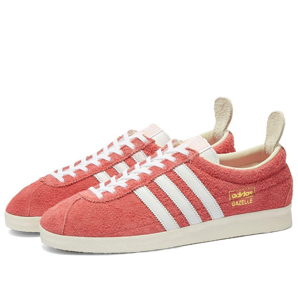 アディダス Adidas メンズ スニーカー シューズ・靴【Gazelle Vintage】Pink/White
