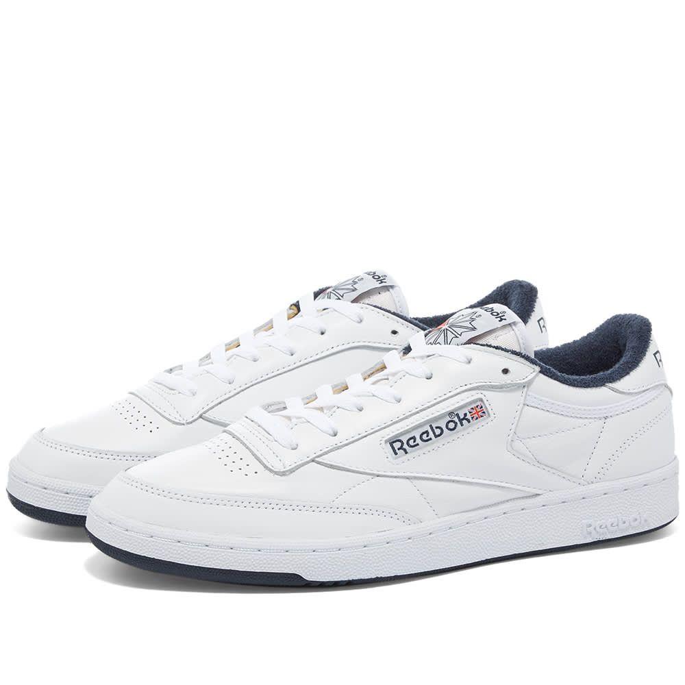 リーボック Reebok メンズ スニーカー シューズ・靴【Club C OG】White/Blue
