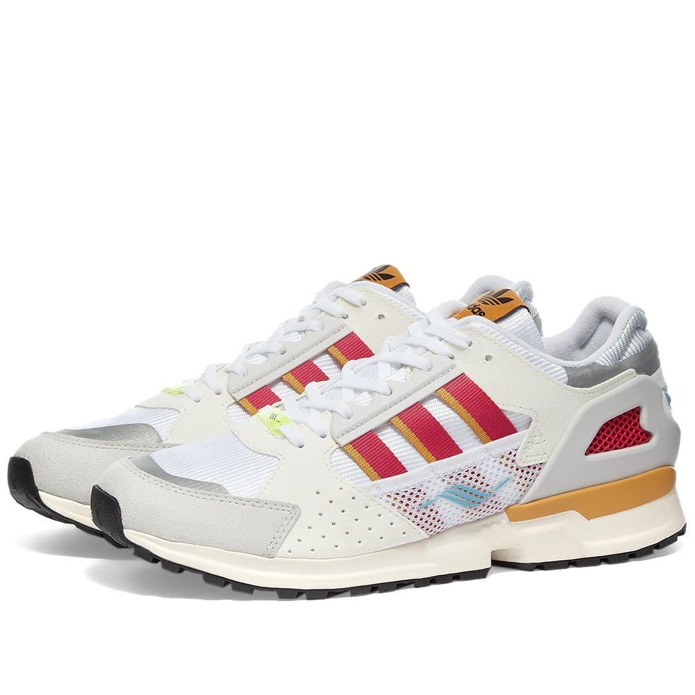アディダス Adidas Consortium メンズ スニーカー シューズ・靴【Adidas ZX 10000 C】White