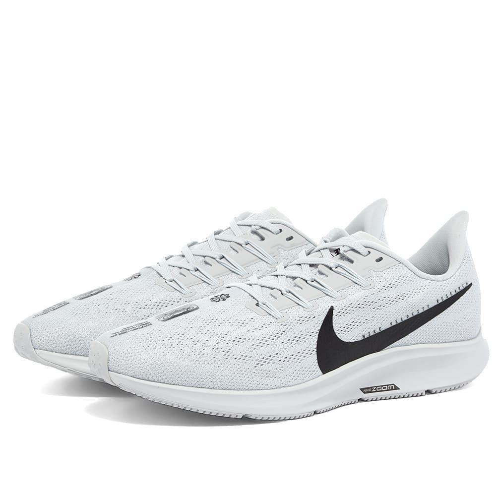 ナイキ Nike メンズ スニーカー エアズーム シューズ・靴【Air Zoom Pegasus 36】Pure Platinum/Black