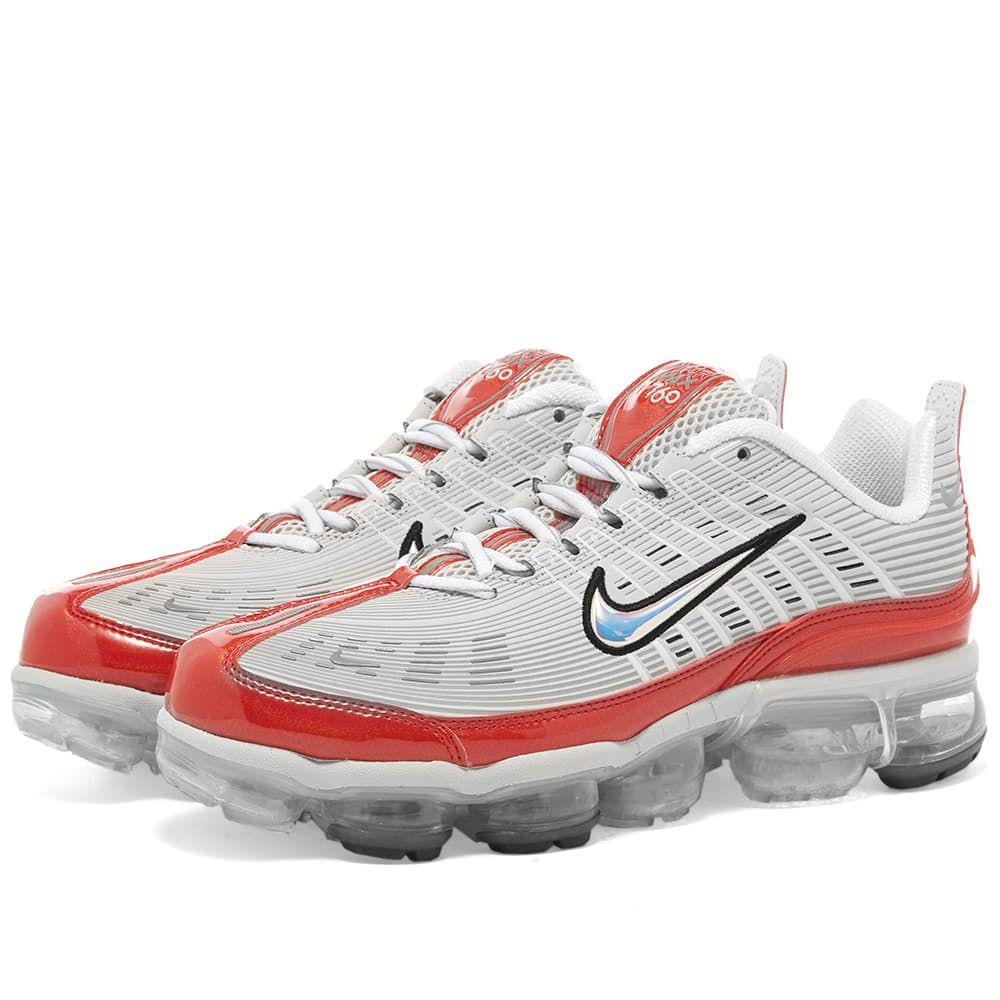 ナイキ Nike メンズ スニーカー シューズ・靴【Air Vapormax 360】Grey/White/Red