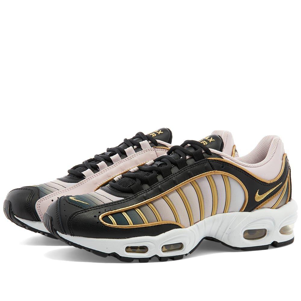 ナイキ Nike レディース スニーカー シューズ・靴【Air Max Tailwind IV LX W】Black/Gold/Fossil Stone