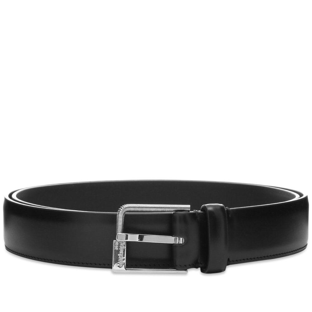 メゾン マルジェラ Maison Margiela メンズ ベルト 【11 Logo Buckle Leather Belt】Black