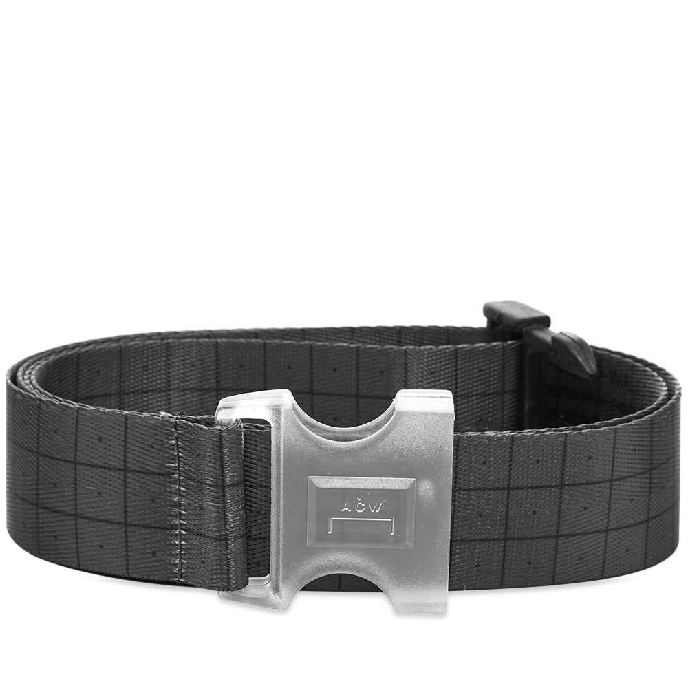 アコールドウォール A-COLD-WALL* メンズ ベルト 【Grid Webbing Belt】Black