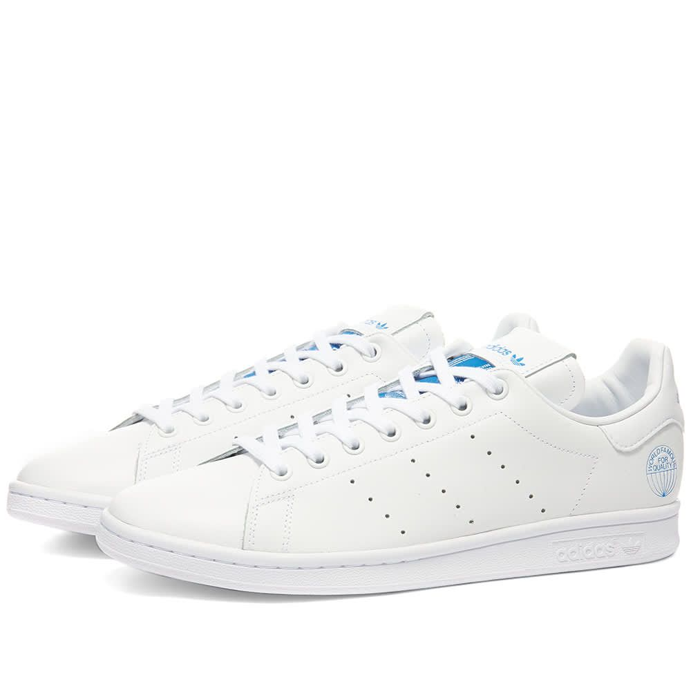 アディダス Adidas メンズ スニーカー スタンスミス シューズ・靴【Stan Smith】White/Bluebird