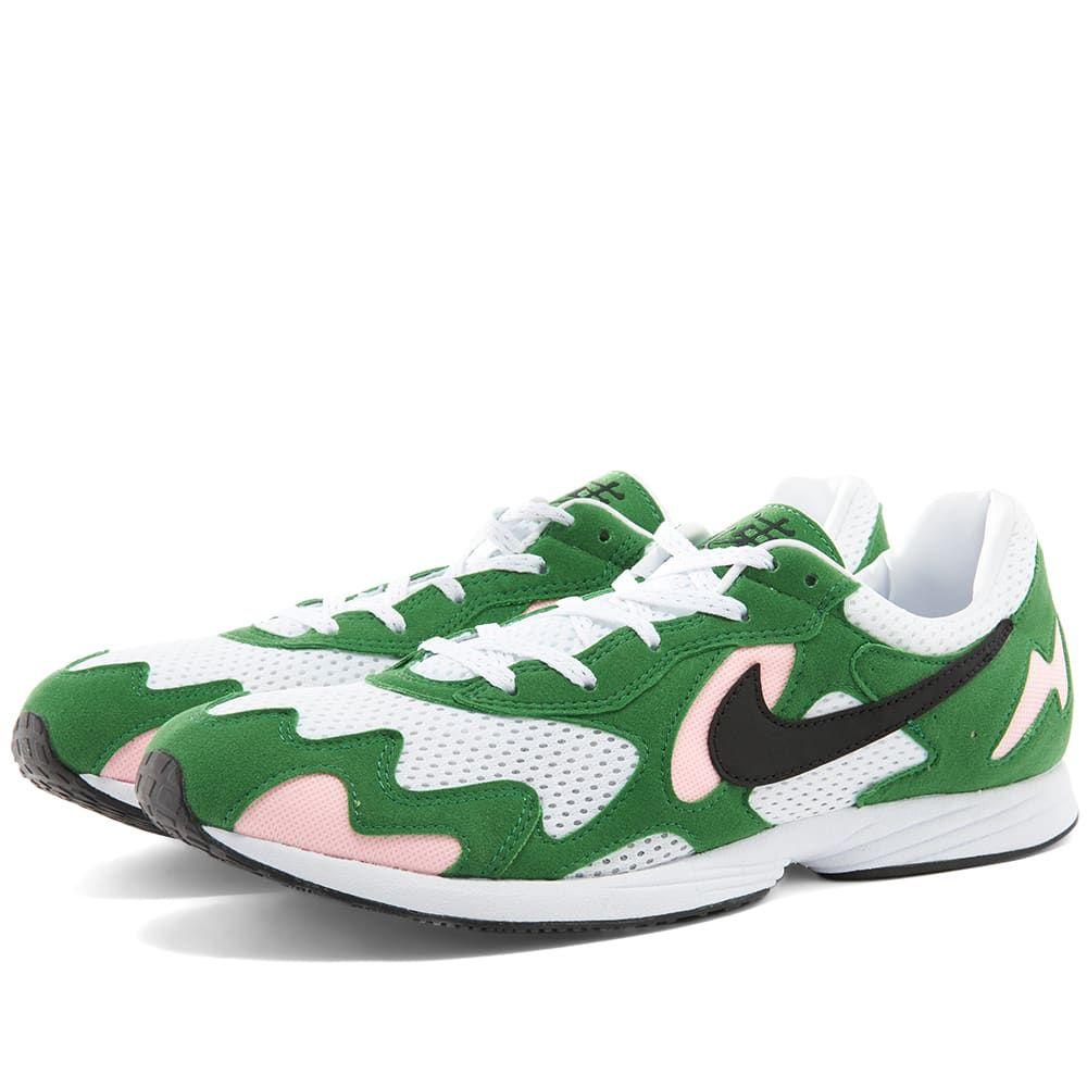 ナイキ Nike メンズ スニーカー シューズ・靴【Air Streak Lite】Aloe Verde/Black/White