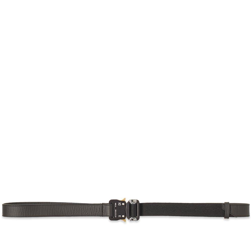 アリクス 1017 ALYX 9SM メンズ ベルト 【Leather Rollercoaster Belt】Black
