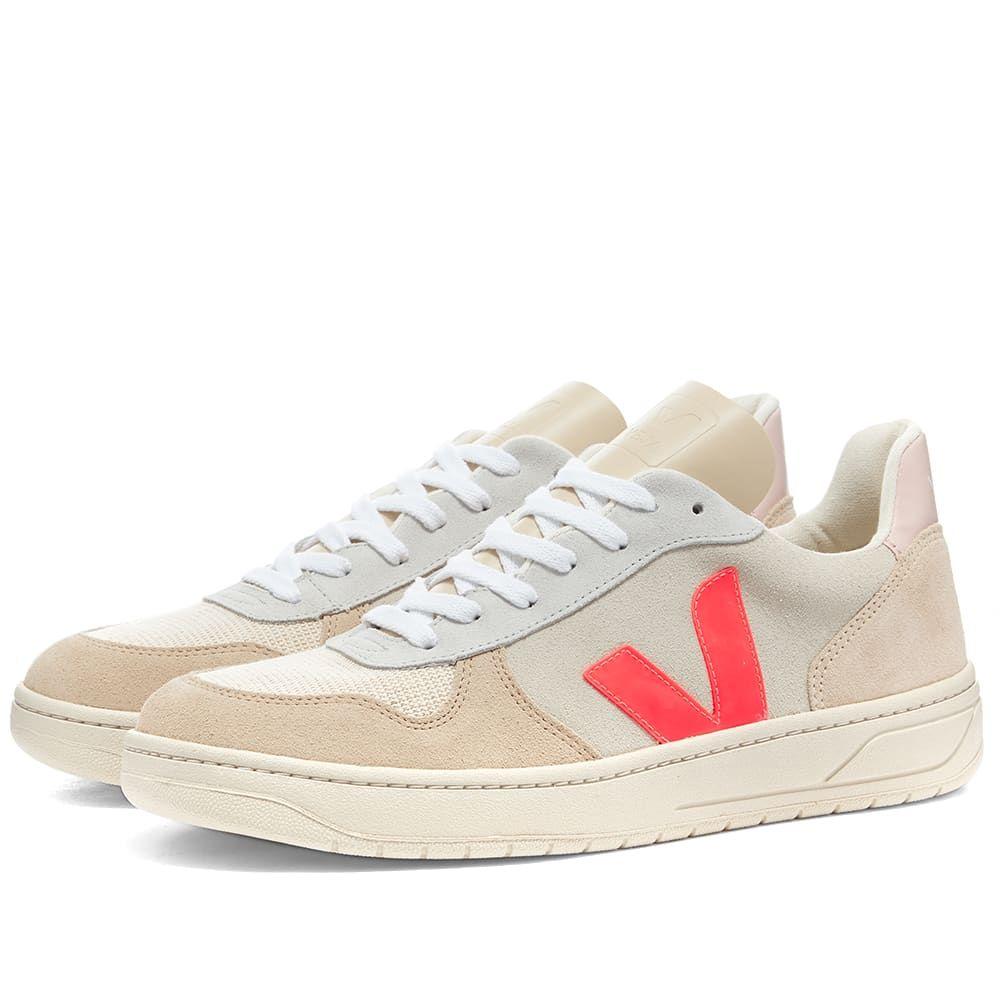 ヴェジャ Veja メンズ スニーカー シューズ・靴【V-10 Basketball Sneaker】Pink Multi