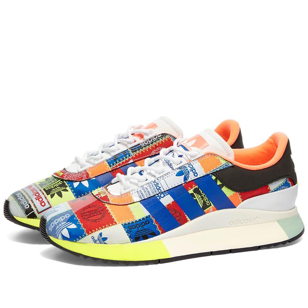 アディダス Adidas レディース スニーカー シューズ・靴【SL Fashion W】White/Blue/Black