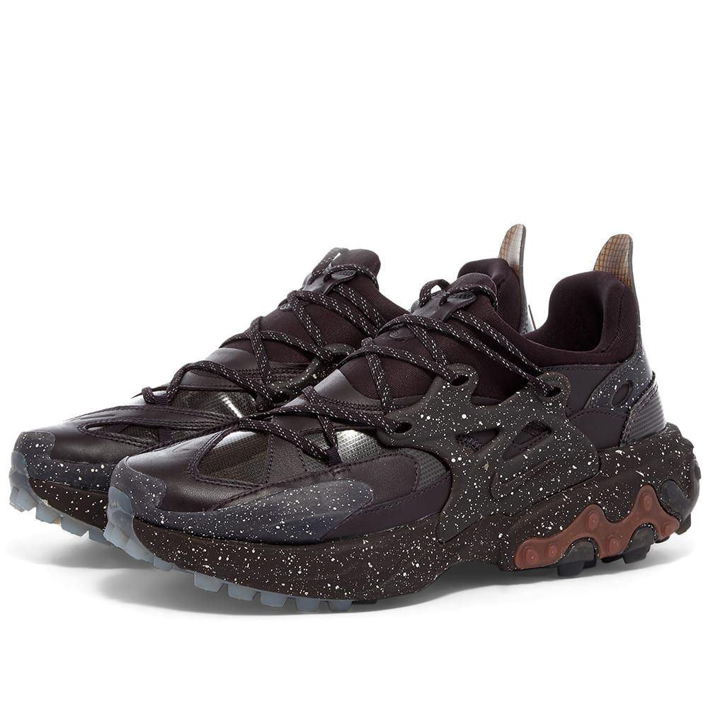 ナイキ Nike メンズ スニーカー シューズ・靴【x Undercover React Presto】Mahogany/White/Pueblo Brown