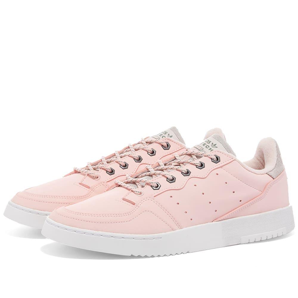 アディダス Adidas レディース スニーカー シューズ・靴【Supercourt W】Clear Pink