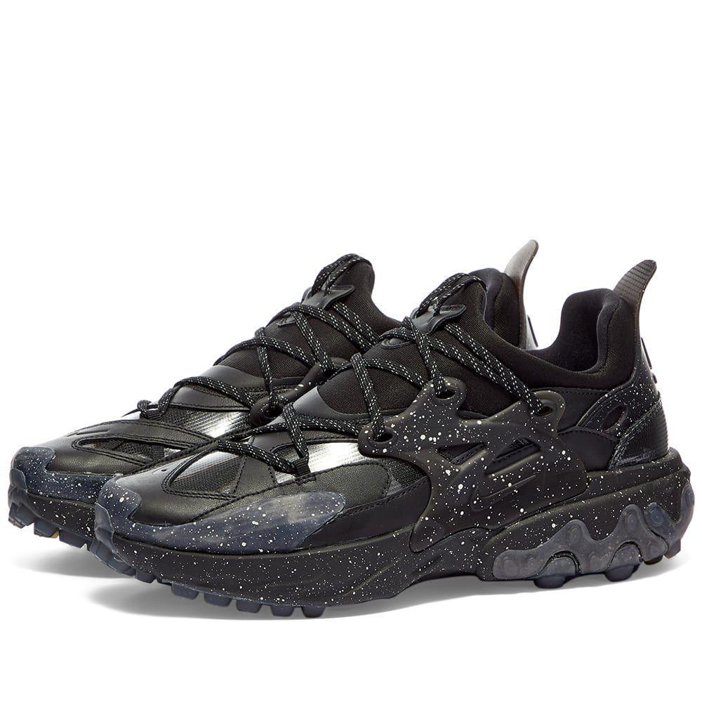 ナイキ Nike メンズ スニーカー シューズ・靴【x Undercover React Presto】Black/White