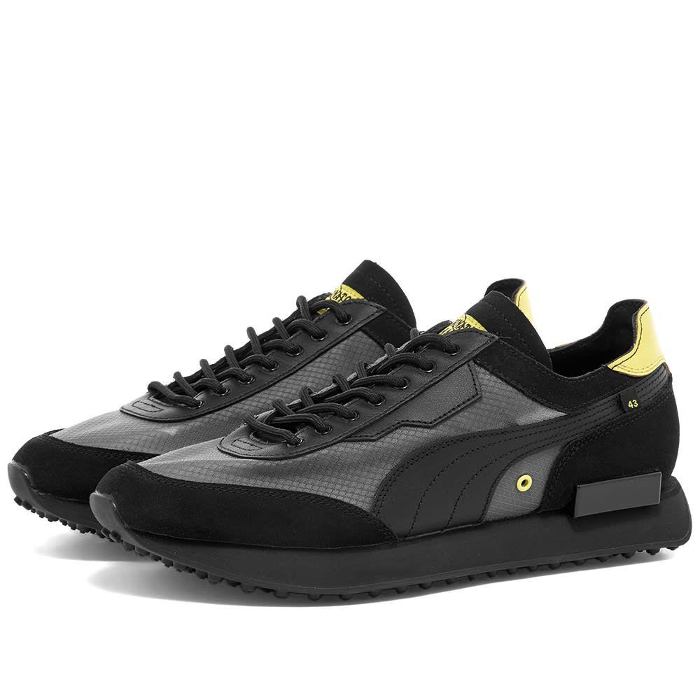 プーマ Puma メンズ スニーカー シューズ・靴【x Chinatown Market Future Rider】Black
