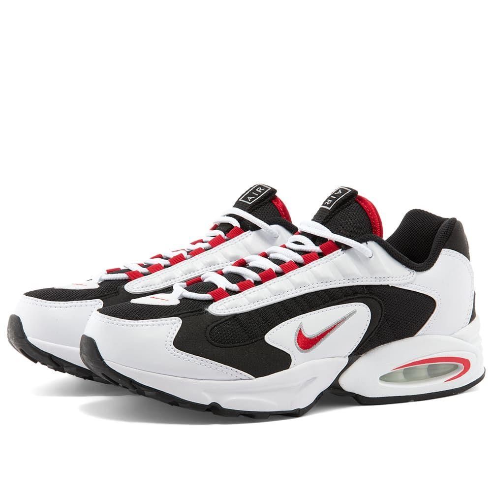 ナイキ Nike レディース スニーカー シューズ・靴【Air Max Triax 96 W】White/Red/Silver