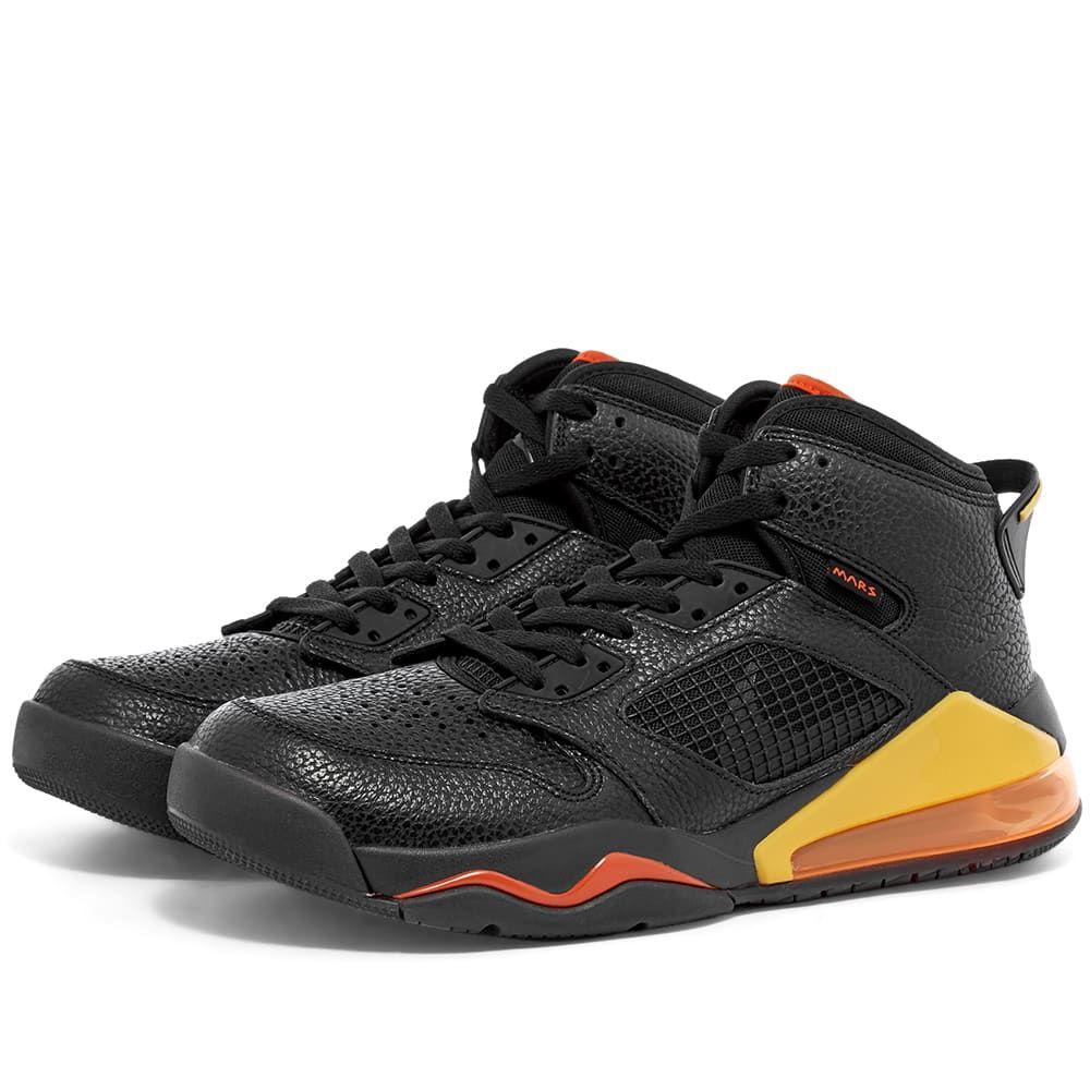 ナイキ ジョーダン Nike Jordan メンズ スニーカー シューズ・靴【Air Jordan Mars 270】Black/Orange/Amarillo