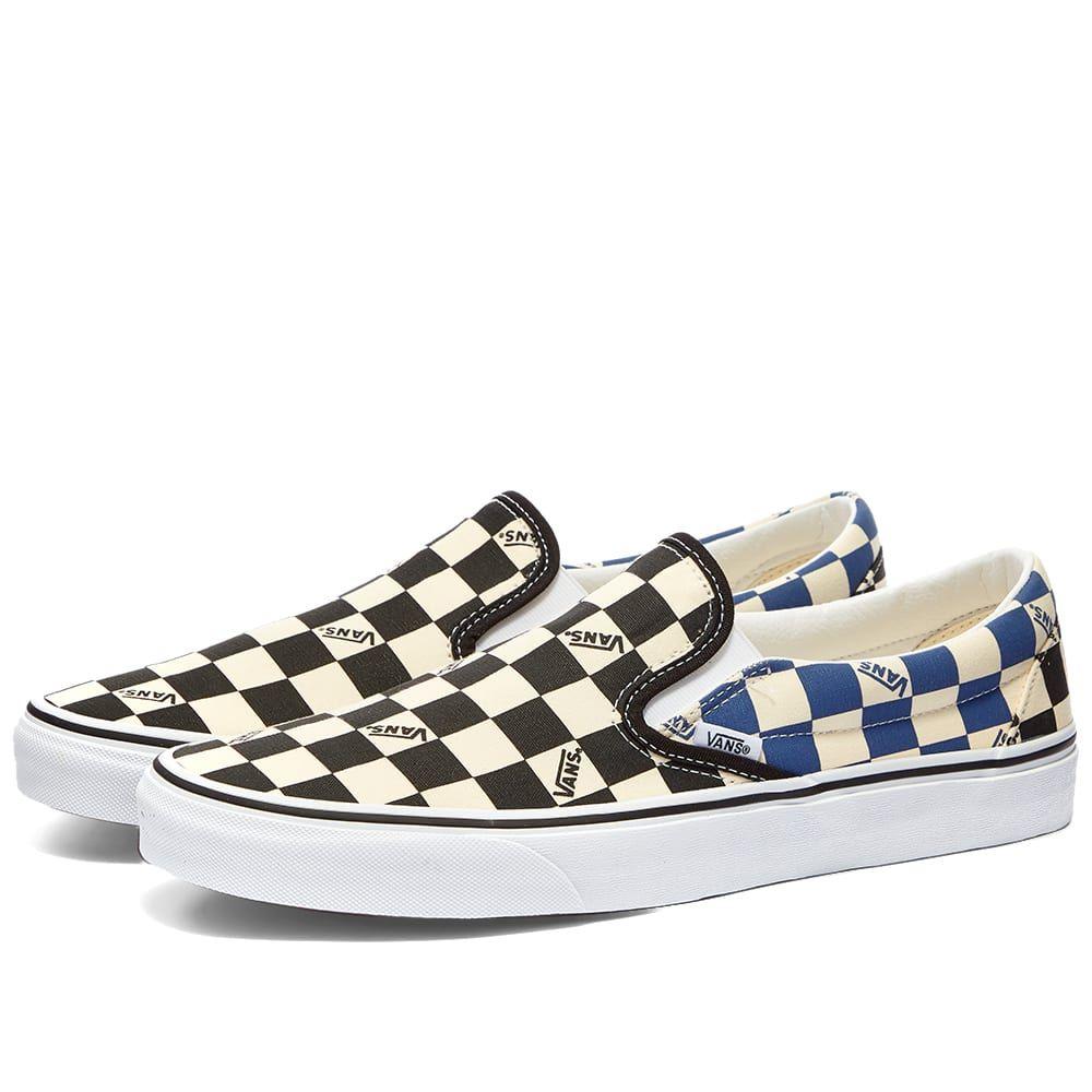 ヴァンズ Vans メンズ スリッポン・フラット シューズ・靴【UA Classic Slip-On】Black/Navy