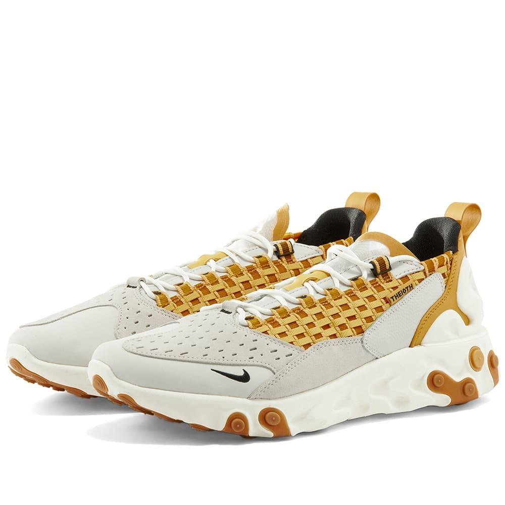 ナイキ Nike メンズ スニーカー シューズ・靴【React Sertu】Grey/Black/Honeycomb